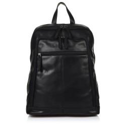 Τσάντα Πλάτης Δέρμα Laptop 14,1'' The Chesterfield Brand C58.0155 Μαύρο