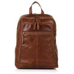 Τσάντα Πλάτης Δέρμα Laptop 14,1'' The Chesterfield Brand C58.0155 Ταμπά