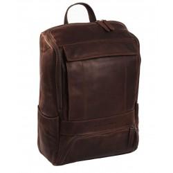 Τσάντα Πλάτης Δέρμα Laptop 15.6'' The Chesterfield Brand C58.0157 Καφέ