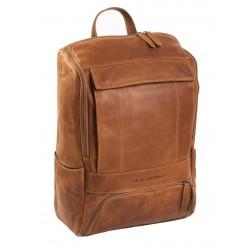 Τσάντα Πλάτης Δέρμα Laptop 15.6'' The Chesterfield Brand C58.0157 Ταμπά
