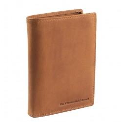 Πορτοφόλι Ανδρικό Δέρμα The Chesterfield Brand C08.0203 Ταμπά