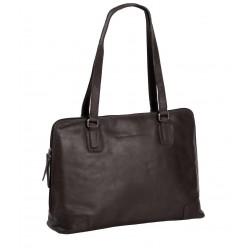 Τσάντα Γυναικεία Δέρμα The Chesterfield Brand C48.0841 Καφέ