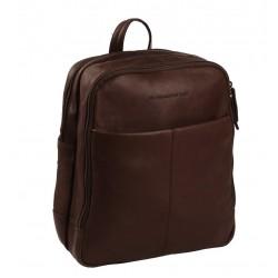Τσάντα Πλάτης Δέρμα Laptop 15.6'' The Chesterfield Brand C58.0175 Καφέ