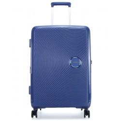 Βαλίτσα Μεσαία 67εκ American Tourister Soundbox 88473 Μπλε