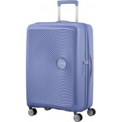 Βαλίτσα Μεσαία 67εκ American Tourister Soundbox 88473 Γαλάζιο