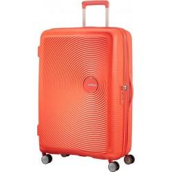 Βαλίτσα Μεσαία 67εκ American Tourister Soundbox 88473 Πορτοκαλί