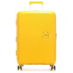 Βαλίτσα Μεσαία 67εκ American Tourister Soundbox 88473 Κίτρινο