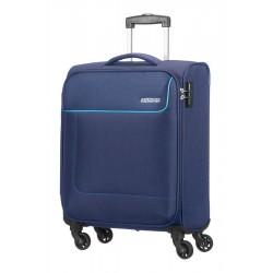 Βαλίτσα Καμπίνας 55εκ American Tourister Funshine 75507 Μπλε