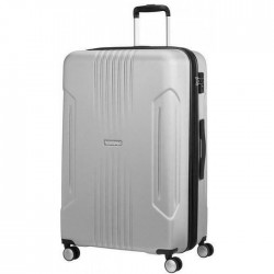 Βαλίτσα Μεγάλη 78εκ American Tourister Tracklite 88752 Ασημί