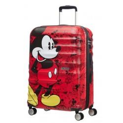 Βαλίτσα Μεσαία 65εκ. American Tourister Disney Wavebreaker 85670-6976 Mickey Comics Red