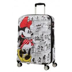 Βαλίτσα Μεσαία 65εκ. American Tourister Disney Wavebreaker 85670-7484 Minnie Comics White