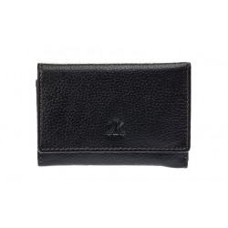 Κλειδοθήκη / Πορτοφόλι Δέρμα Kappa 1746 Μαύρο