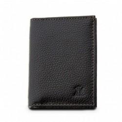 Καρτοθήκη / Πορτοφόλι Δέρμα Kappa 1977 Μαύρο