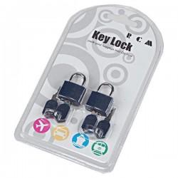 Λουκέτο ασφαλείας με κλειδί Rcm TH1018 Μπλε