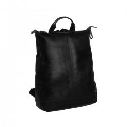 Τσάντα Πλάτης Γυναικεία Δέρμα The Chesterfield Brand C58.0141 Μαύρο