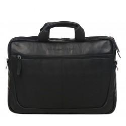 Χαρτοφύλακας Δέρμα Laptop 15.6'' The Chesterfield Brand C48.0708 Μαύρο