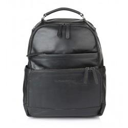 Τσάντα Πλάτης Δέρμα Laptop 14.1'' The Chesterfield Brand C58.0184 Μαύρο