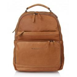 Τσάντα Πλάτης Δέρμα Laptop 14.1'' The Chesterfield Brand C58.0184 Ταμπά