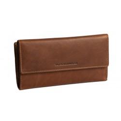 Πορτοφόλι Γυναικείο Δέρμα The Chesterfield Brand C08.0177 Ταμπά