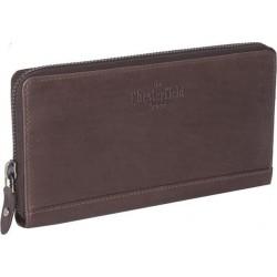 Πορτοφόλι Γυναικείο Δέρμα The Chesterfield Brand C08.017601 Καφέ