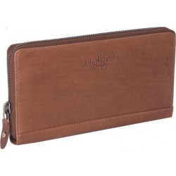 Πορτοφόλι Γυναικείο Δέρμα The Chesterfield Brand C08.017631 Ταμπά