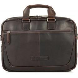 Χαρτοφύλακας Δέρμα Laptop 15.6'' The Chesterfield Brand C40.1010 Καφέ