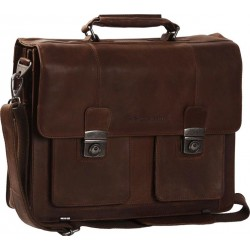 Χαρτοφύλακας Δέρμα Laptop 15.6'' The Chesterfield Brand C48.022301 Καφέ