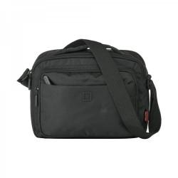 Τσάντα Ανδρική ώμου New Line X43037A Μαύρο