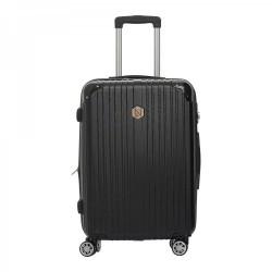 Βαλίτσα Μεσαία σκληρού τύπου 65εκ. New Line 6030/24 Μαύρο
