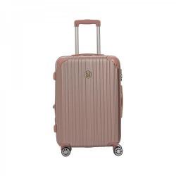 Βαλίτσα Μεσαία σκληρού τύπου 65εκ. New Line 6030/24 Ροζ-Χρυσό