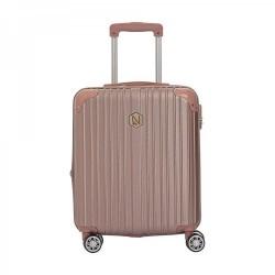 Βαλίτσα Καμπίνας 55εκ. New Line 6030/20 Ροζ-Χρυσό