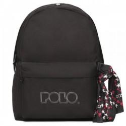 Σακίδιο Πλάτης σχολικό Polo Original 901135 Μαύρο
