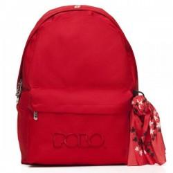 Σακίδιο Πλάτης σχολικό Polo Original 901135 Κόκκινο