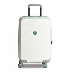 Βαλίτσα Καμπίνας 55εκ. BG Berlin Zip2 BG003/05/206/20 Λευκό