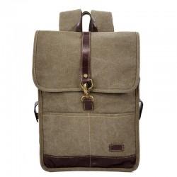 Τσάντα Πλάτης Laptop 13'' Rcm 17546 Λαδί