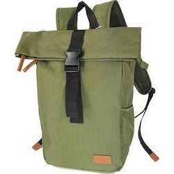 Τσάντα Πλάτης Laptop 15.6'' Rcm Rolltop 2830 Πράσινο