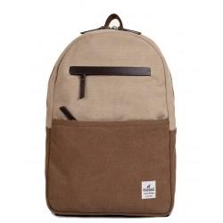 Τσάντα Πλάτης Laptop 14'' Burban Originals 2058 Μπεζ/Καφέ