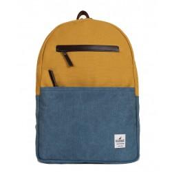 Τσάντα Πλάτης Laptop 14'' Burban Originals 2058 Κίτρινο/Ραφ