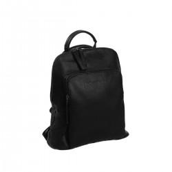 Τσάντα Πλάτης Γυναικεία Δέρμα The Chesterfield Brand C58.0290 Μαύρο