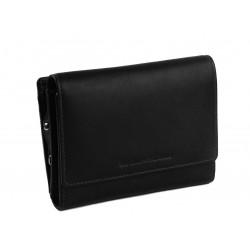 Πορτοφόλι Γυναικείο Δέρμα The Chesterfield Brand C08.041400 Μαύρο