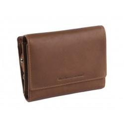 Πορτοφόλι Γυναικείο Δέρμα The Chesterfield Brand C08.041431 Ταμπά