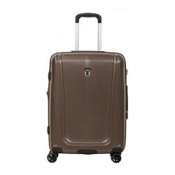 Βαλίτσα Καμπίνας 55εκ. Verage Shield 18087-S Καφέ