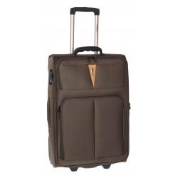 Βαλίτσα Μεσαία 61εκ Diplomat ZC6100-M Καφέ