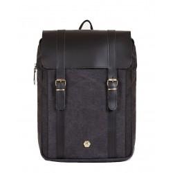 Τσάντα Πλάτης Laptop 15,6'' Burban Handkeen 2050 Μαύρο