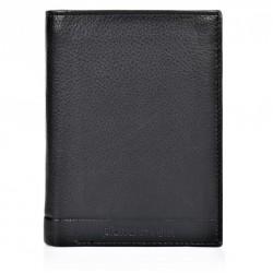Πορτοφόλι Ανδρικό Δέρμα Pierre Cardin PC1221 Μαύρο