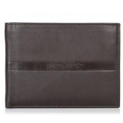 Πορτοφόλι Ανδρικό Δέρμα Pierre Cardin PC1224 Καφέ