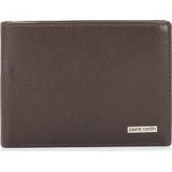 Πορτοφόλι Ανδρικό Δέρμα Pierre Cardin PC1199 Καφέ