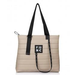 Τσάντα Γυναικεία FRNC 2145 Μπεζ
