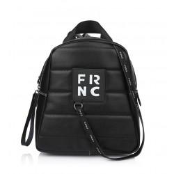 Τσάντα Γυναικεία Πλάτης FRNC 2131 Μαύρο