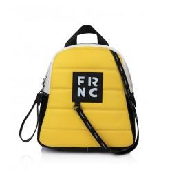 Τσάντα Γυναικεία Πλάτης FRNC 2131 Κίτρινο